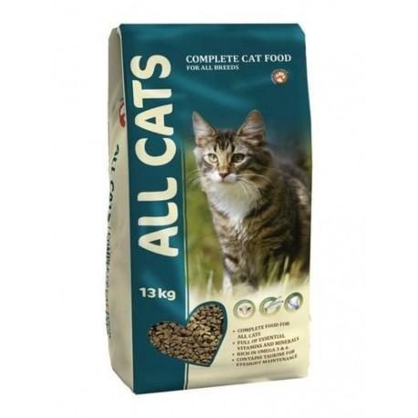 Корм ALL CATS для  взрослых кошек  13кг