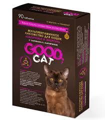 Good cat мультивитаминное лакомство для кошек
