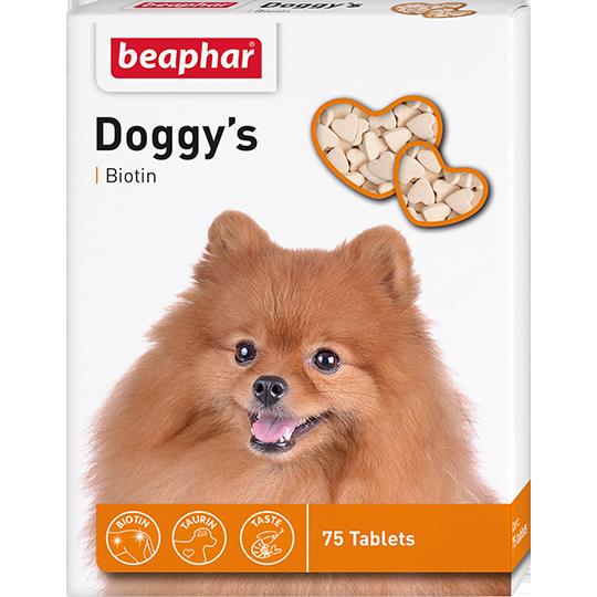 BEAPHAR Doggy's + Biotine для собак, 75 таб