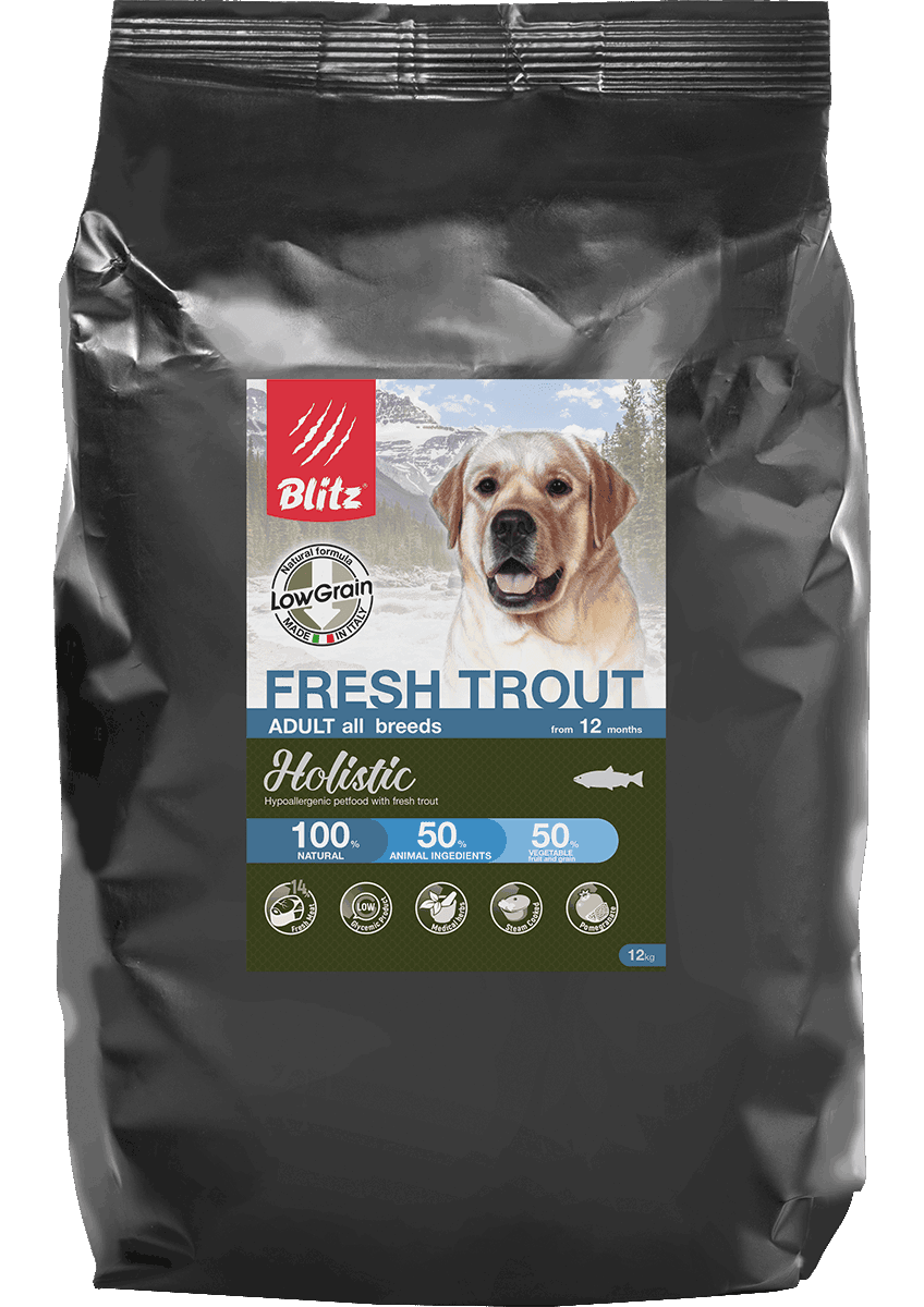 Blitz Fresh Duck All Breeds Low Grain, 1,5 кг