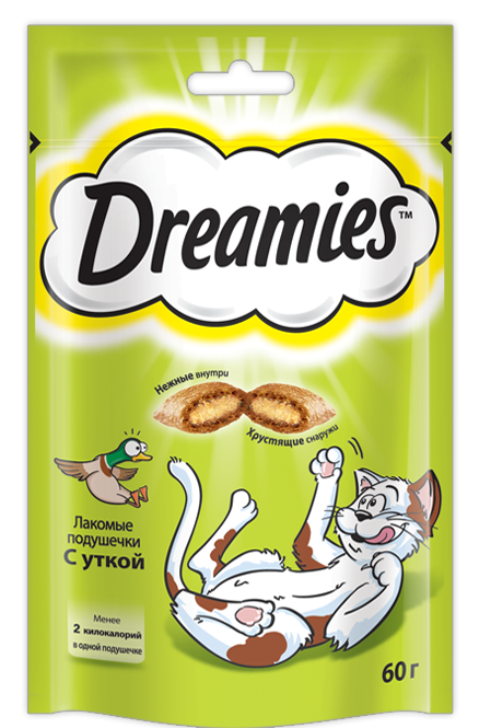 Dreamies с Уткой, 60 гр