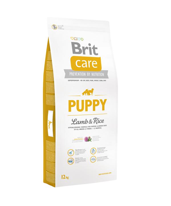Brit Care Puppy Lamb & Rice, 1 кг