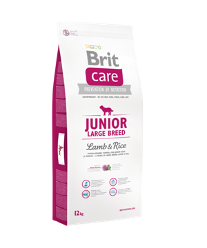 Brit Care Junior Large Breed Lamb&Rice, 1 кг