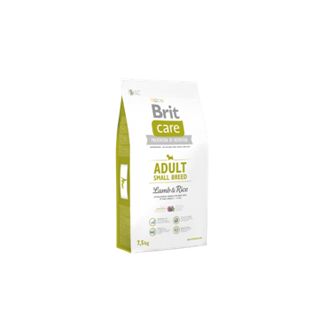 Brit Care Adult Small Breed Lamb&Rice, 1 кг