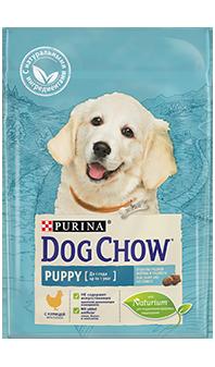Dog Chow® Puppy, с курицей, 14 кг