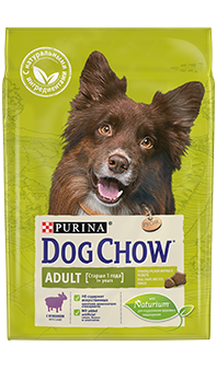 Dog Chow® Adult, с ягненком, 14 кг