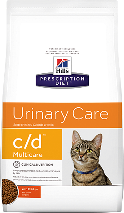 Hill's Prescription Diet c/d Multicare Urinary Care с курицей 10кг  50362