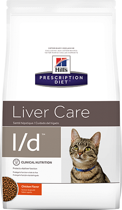 Hill's Prescription Diet l/d Liver Care 1,5 кг 50166