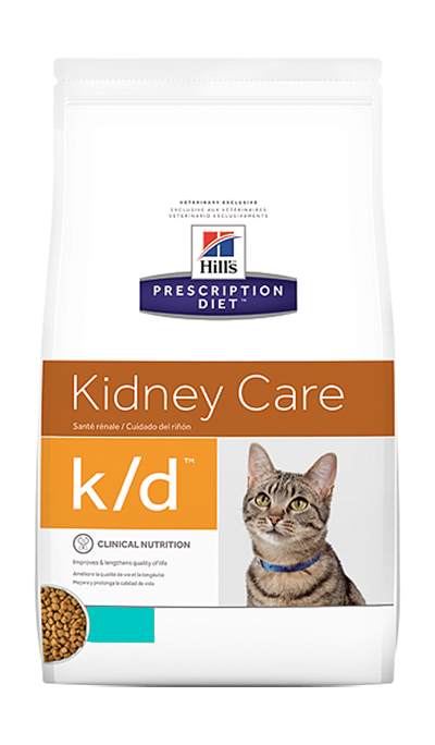 Hill's Prescription Diet k/d Kidney Care с тунцом 1,5 кг 50455
