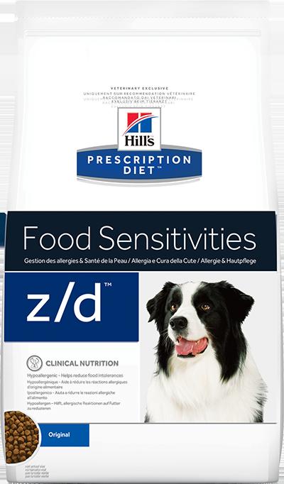 Hill's Prescription Diet z/d Food Sensitivities 3 кг 70516