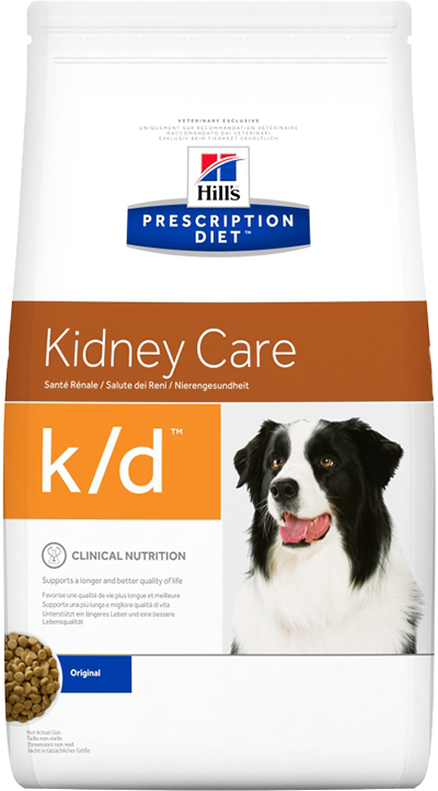 Hill's Prescription Diet k/d Kidney Care 2 кг 8658