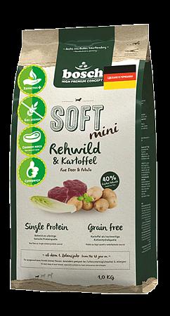 BOSCH SOFT MINI с косулей и картофелем 1 кг