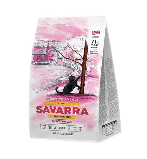 Savarra для взрослых кошек 12 кг