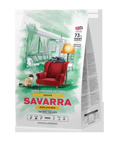 Savarra Indor для взрослых кошек 15 кг