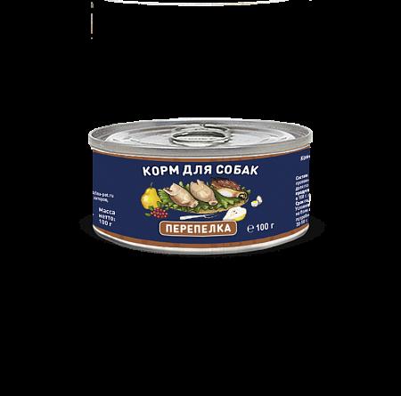 Solid Natura Перепёлка влажный корм для собак 100 гр