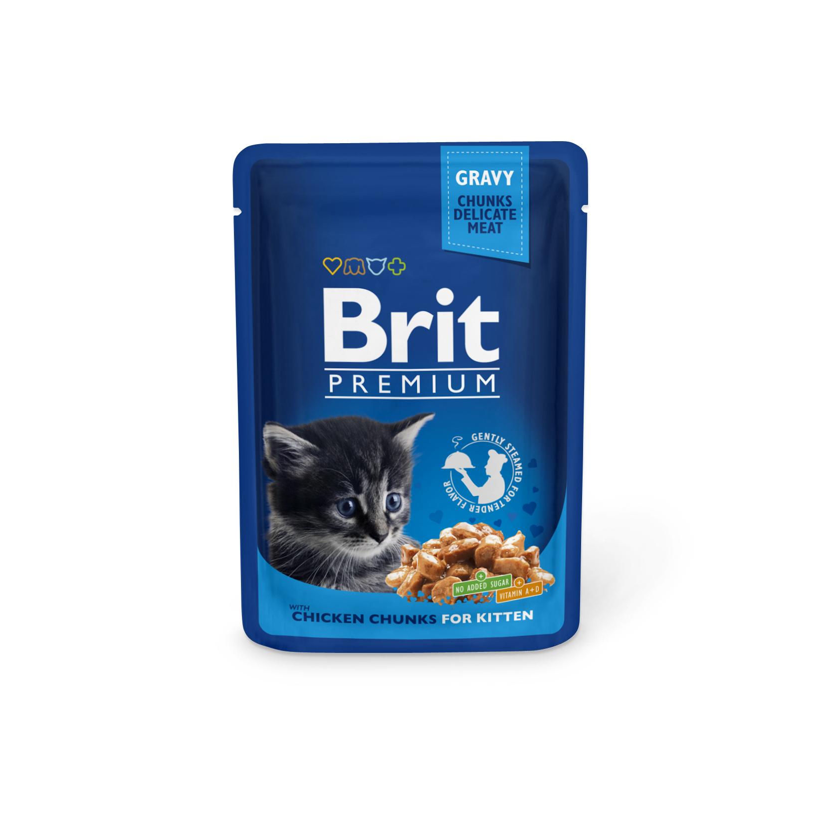 Brit Premium for kitten whith chicken 100 гр
