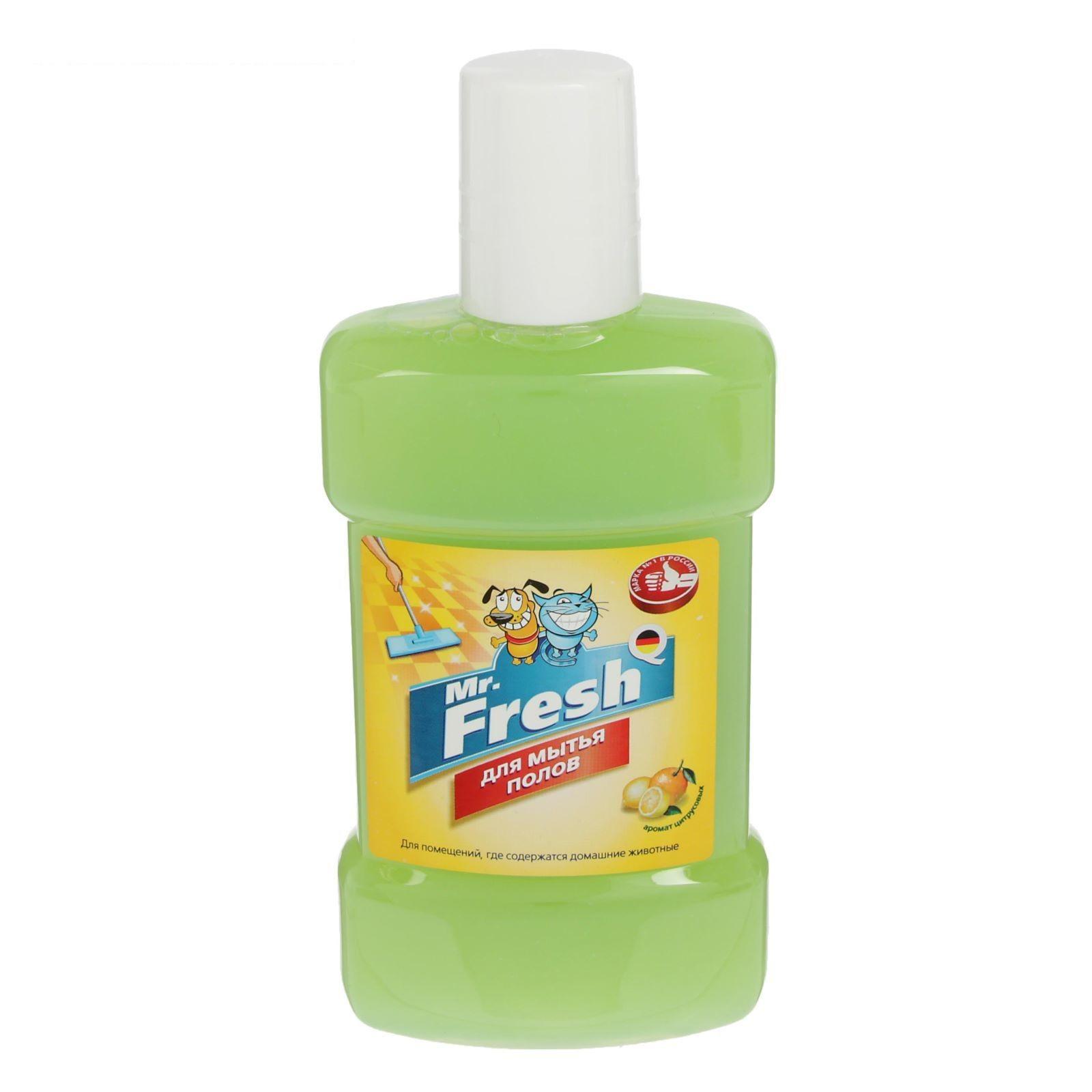 Mr. Fresh средство для мытья полов 300мл