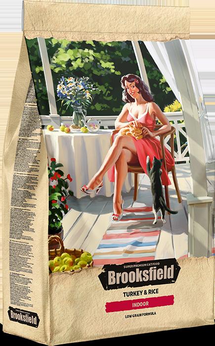 BROOKSFIELD INDOOR Индейка/Рис 2 кг