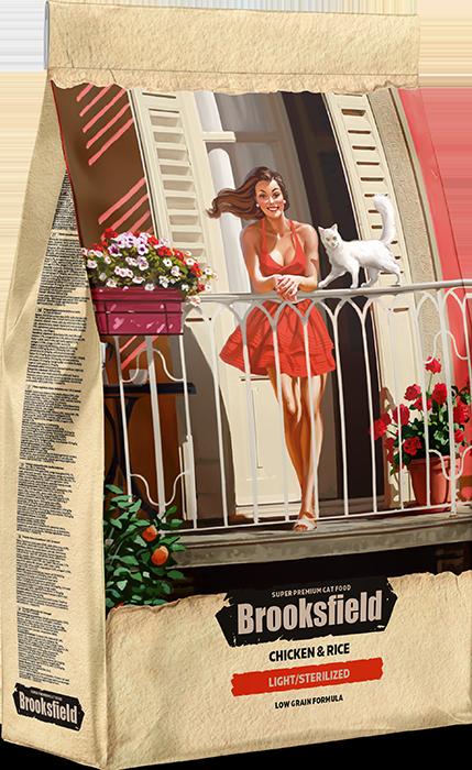 BROOKSFIELD LIGHT Курица/Рис 2 кг