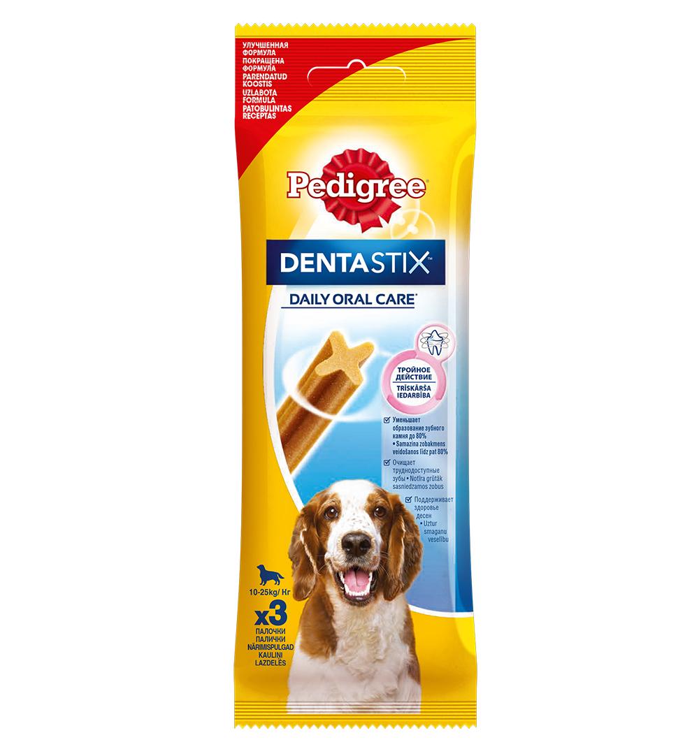 Педигри Denta Stix Daily Oral Care 3 палочки 77гр