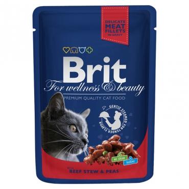 Brit Premium Beef Stew&Peas in Gravy 100 гр