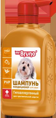 Mr Bruno Шампунь-кондиционер гипоаллергенный 350 мл