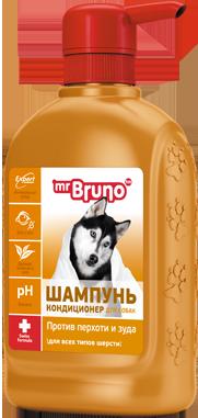 Mr Bruno Шампунь-кондиционер для собак 350 мл