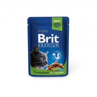 Brit Premium Chicken Slices for Sterilised in Gravy 100 гр