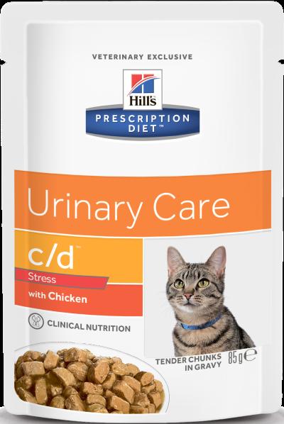 Hill's™ Prescription Diet™ c/d™ Urinary Stress 85гр 60569