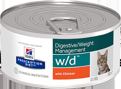 Hill's™ Prescription Diet™ Feline w/d™ 156гр 9455