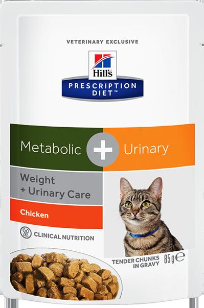Hill's™ Prescription Diet™ Metabolic + Urinary Feline 85гр 60917