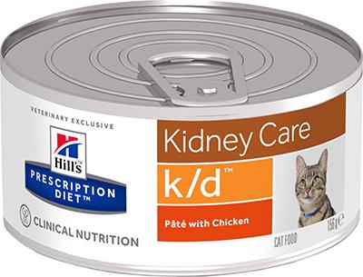 Hill's™ Prescription Diet™ k/d™ Feline 156гр  9453