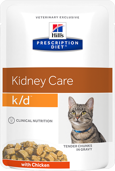 Hill's™ Prescription Diet™ Feline k/d™ Курица 85гр 3405