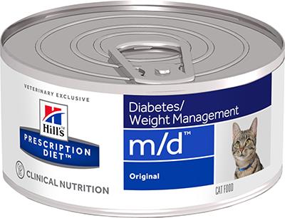 Hill's™ Prescription Diet™ Feline m/d™ 156гр  4281