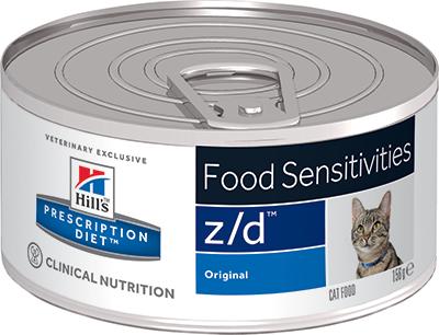 Hill's™ Prescription Diet™ z/d™ Feline ULTRA Allergen-Free 156гр 5661