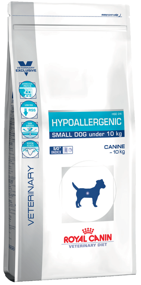 Hypoallergenic HSD 24 Small Dog  1 кг