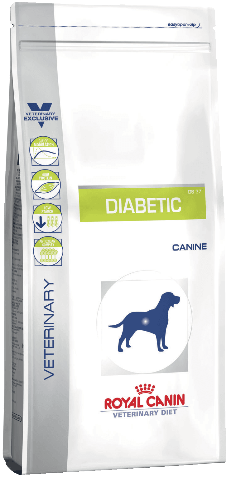 Diabetic DS37 Canine 12кг