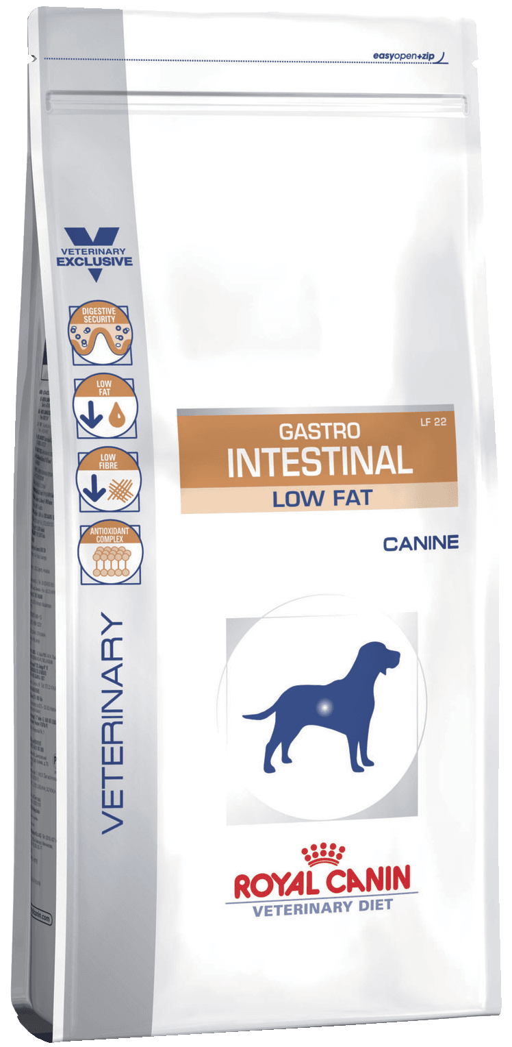 Gastro Intestinal Low Fat LF22 Canine 12 кг