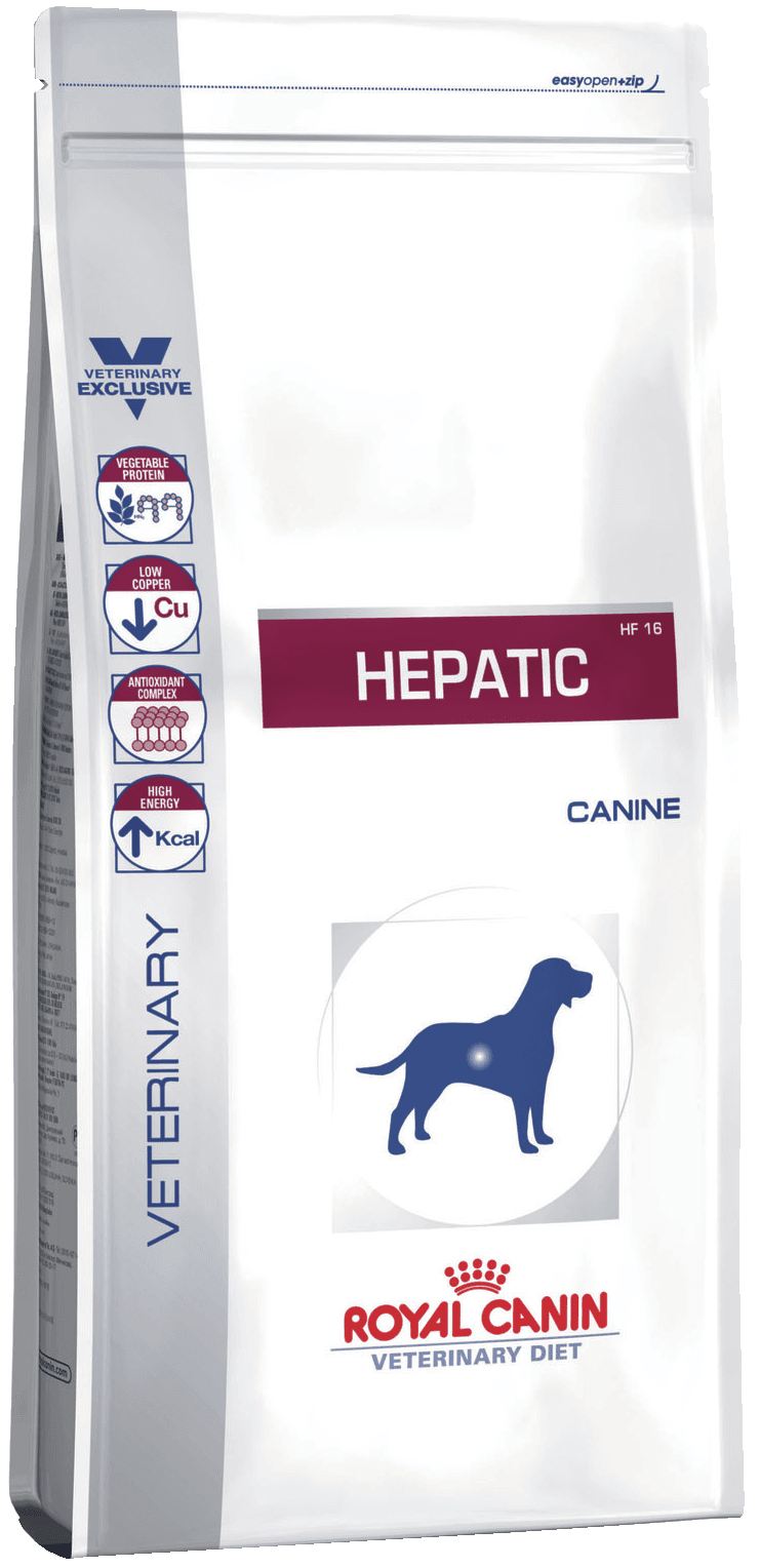 Hepatic HF16 Canin 1.5 кг
