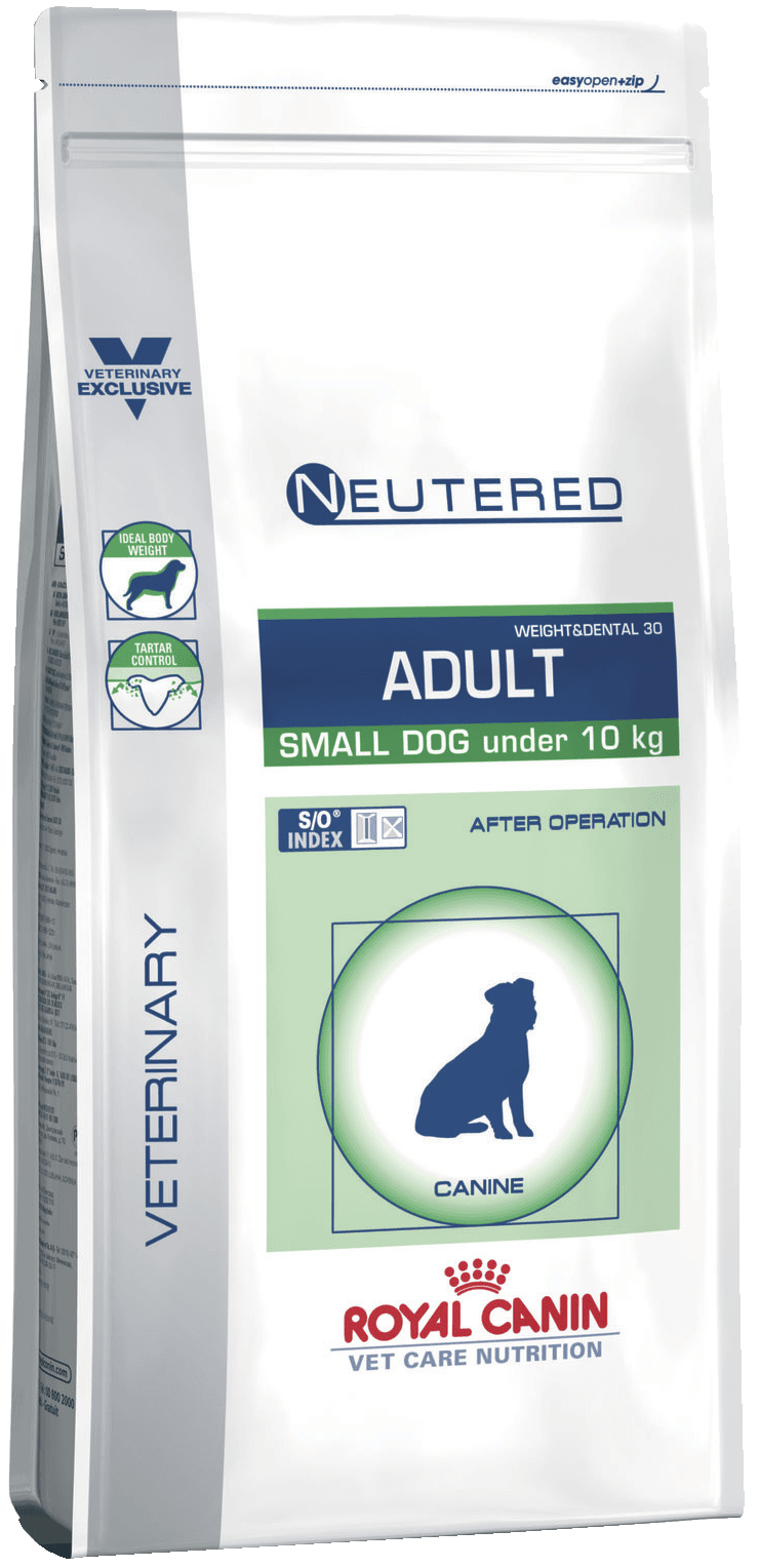 Neutered Adult Small Dog 0,8кг