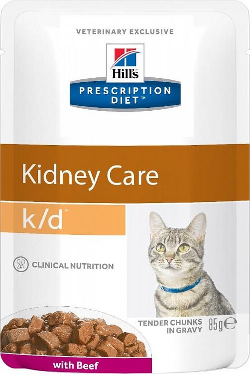 Hill's™ Prescription Diet™ Feline k/d™ Говядина 85 гр 60303