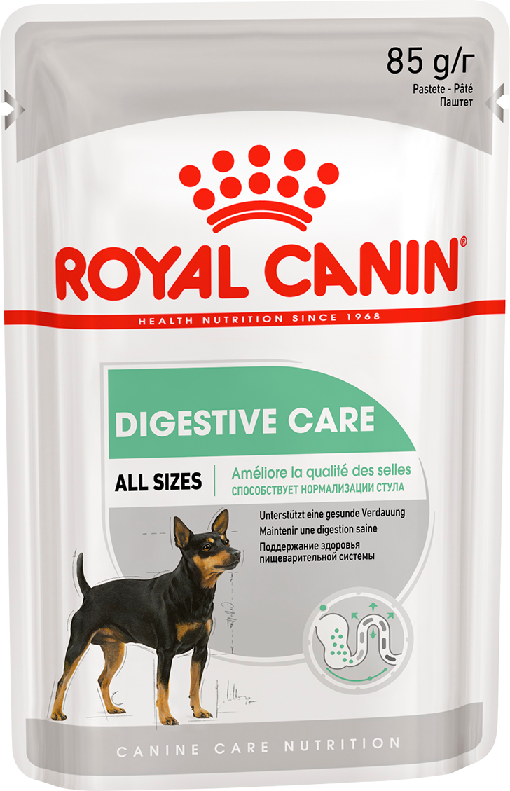 DIGESTIVE CARE POUCH LOAF 85 гр