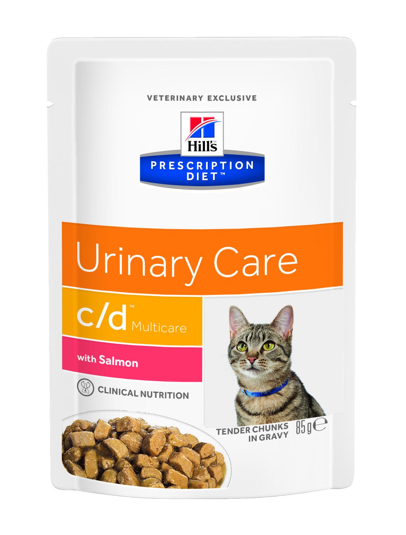 Hill's™ Prescription Diet™ Feline c/d™ Multicare Лосось 85гр 60559