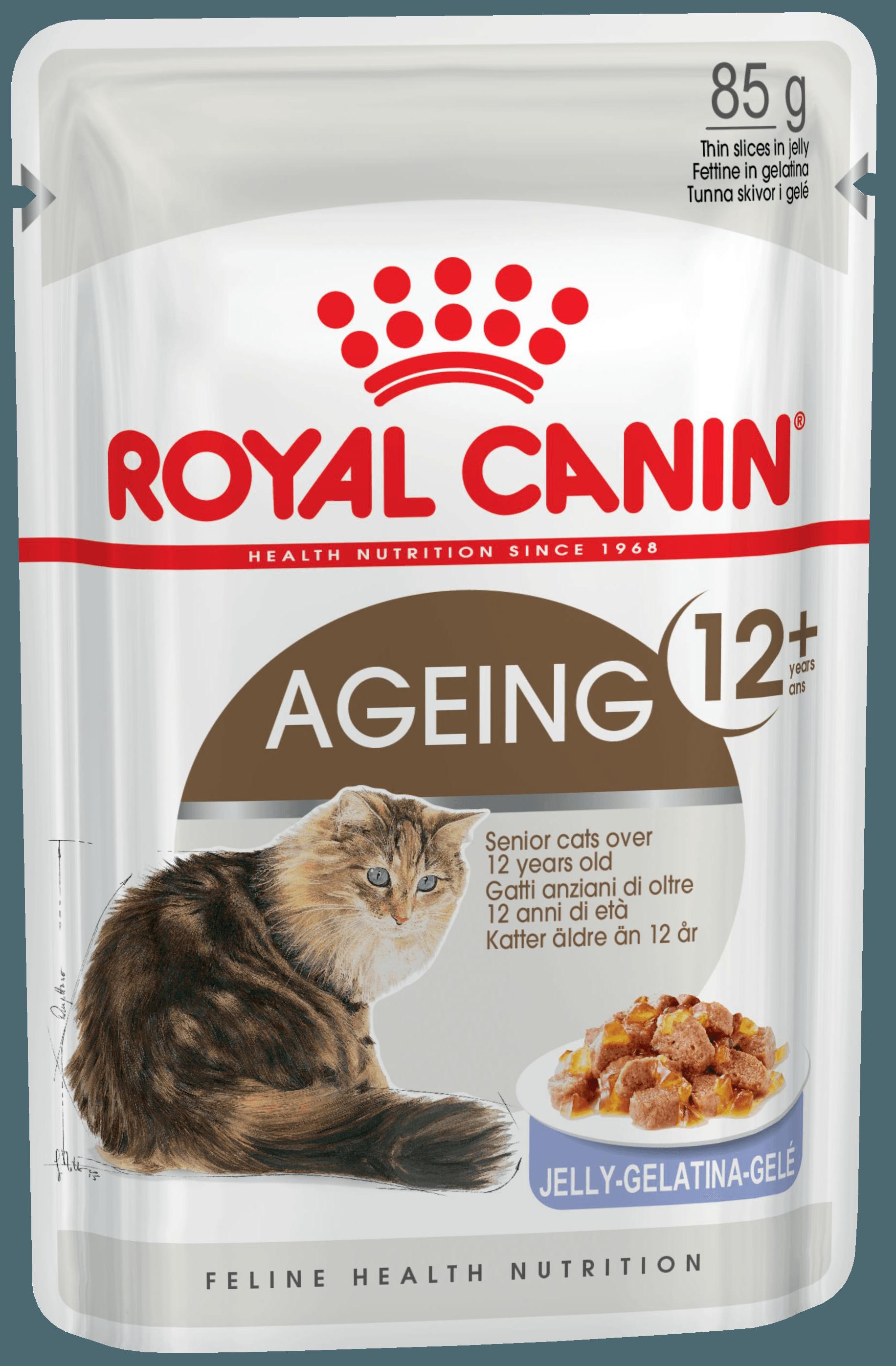AGEING +12 85гр (кусочки в желе)