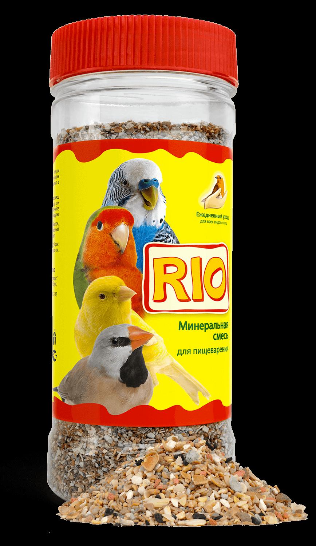 RIO. Минеральная смесь для всех видов птиц, 600 гр