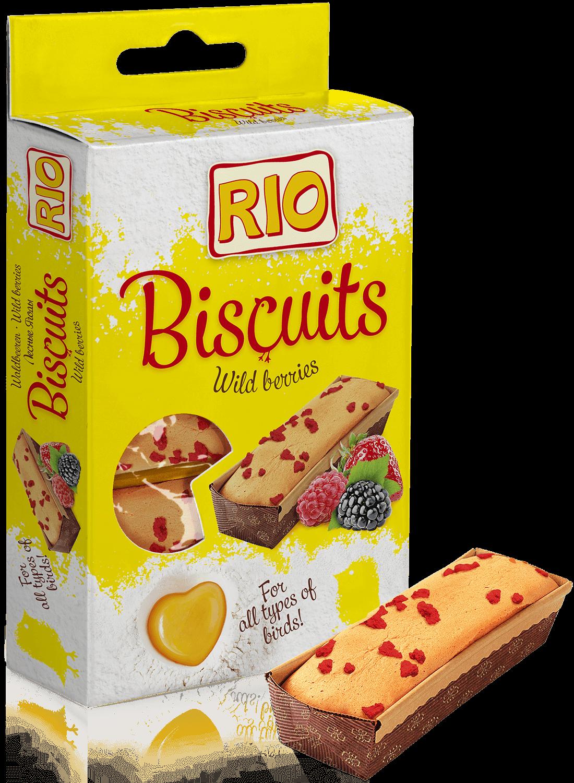 RIO. Бисквиты для всех видов птиц с лесными ягодами, 5*7гр