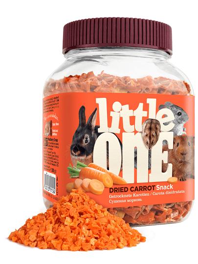 Little One. Сушеная морковь, 200гр