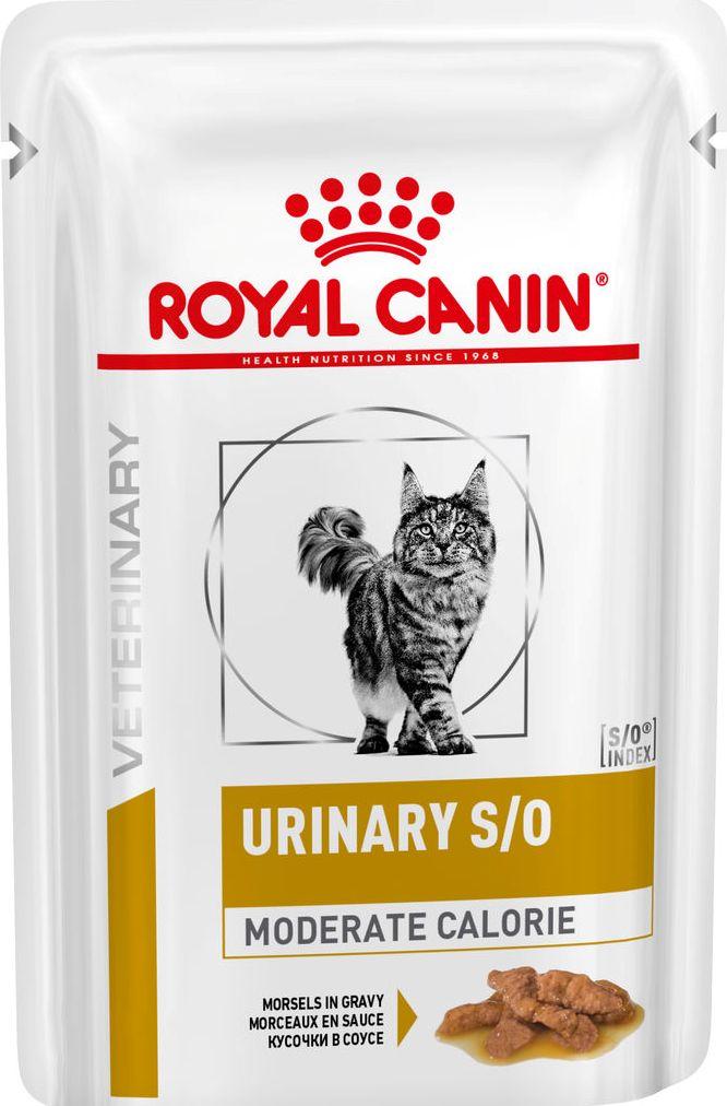 URINARY S/O MODERATE CALORIE (КУСОЧКИ В СОУСЕ)  85 гр