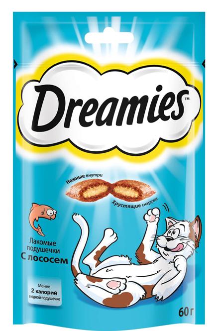 Dreamies с Лососем, 60 гр