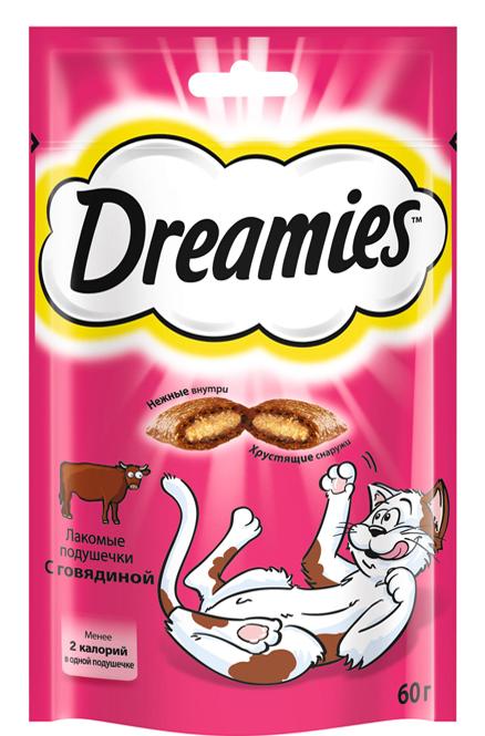 Dreamies с Говядиной, 140 гр